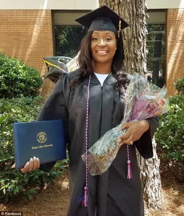 Mom, 44, who survived breast cancer twice graduates on the same day as her daughter