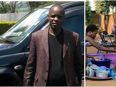Parliamentary aspirant SHOCKS the country by doing this woman's utensils for votes (PHOTOS)