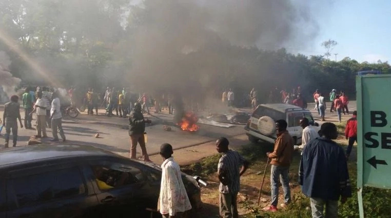 Violence in Kisumu as MCA is abducted