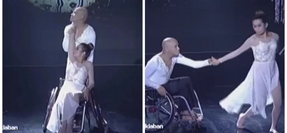 Pokwang and Wacky Kiray move the audience into tears with their emotional wheelchair dance in 'I Can Do That'