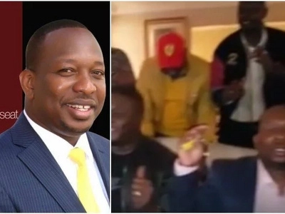 This video of a prayerful Sonko after nominations triumph will make your day