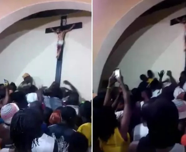 Crucifix appears in mosque in Nigeria, residents astonished