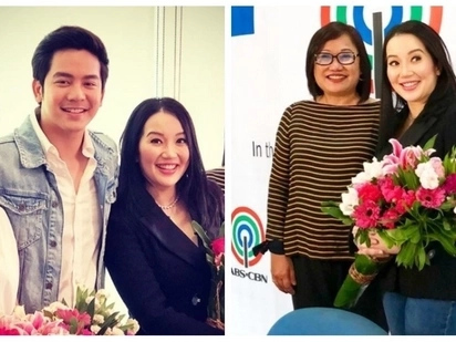 The Queen is back! Kris Aquino returns to ABS-CBN with new movie project with Joshua Garcia & Julia Barretto