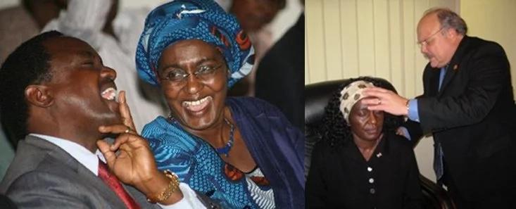 Where is Pauline Kalonzo?