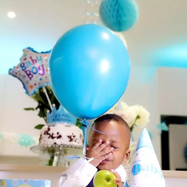 Diamond and Zari's first son turns a year old and he is all sorts of cute