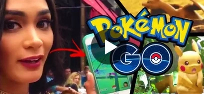 WATCH: Miss Universe Pia Wurtzbach catches 'em all on New York streets