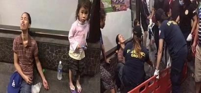 Kawawa naman si Ate! Netizen shares 911 experience in saving ailing Pinay, daughter