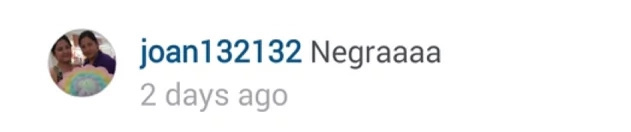 """Bianca's response to basher who called her child """"negra"""""""