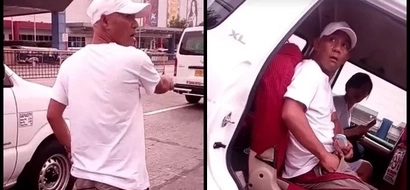 He stole the phone and returned it after being confronted...what he did will make you mad!