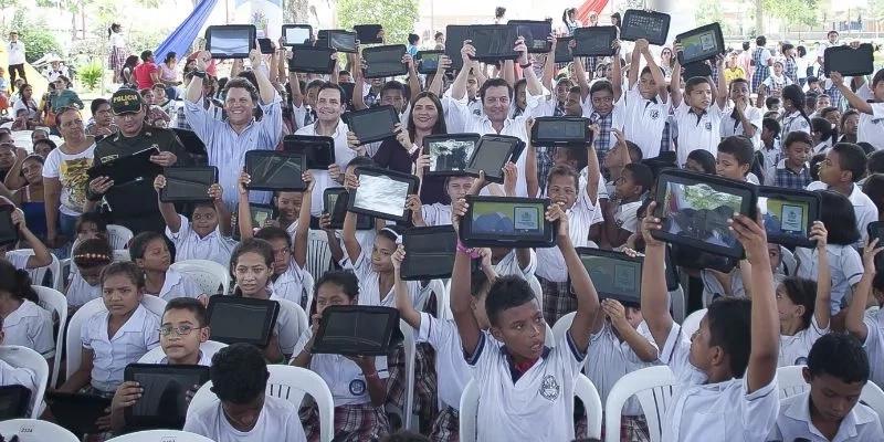 Tecnología para superar la inequidad en Colombia