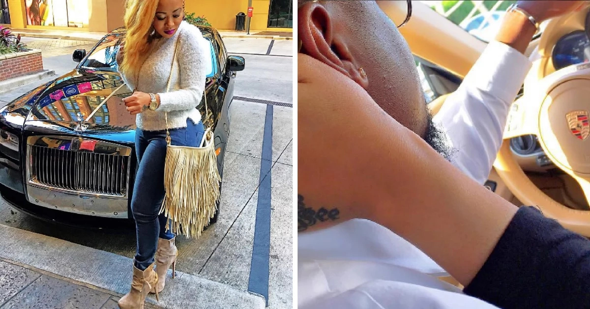 X insanely seducing photos of Vera Sidika with luxury cars