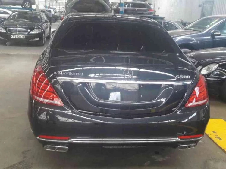 Chris Kirubi becomes first Kenyan to own the luxurious Maybach Benz