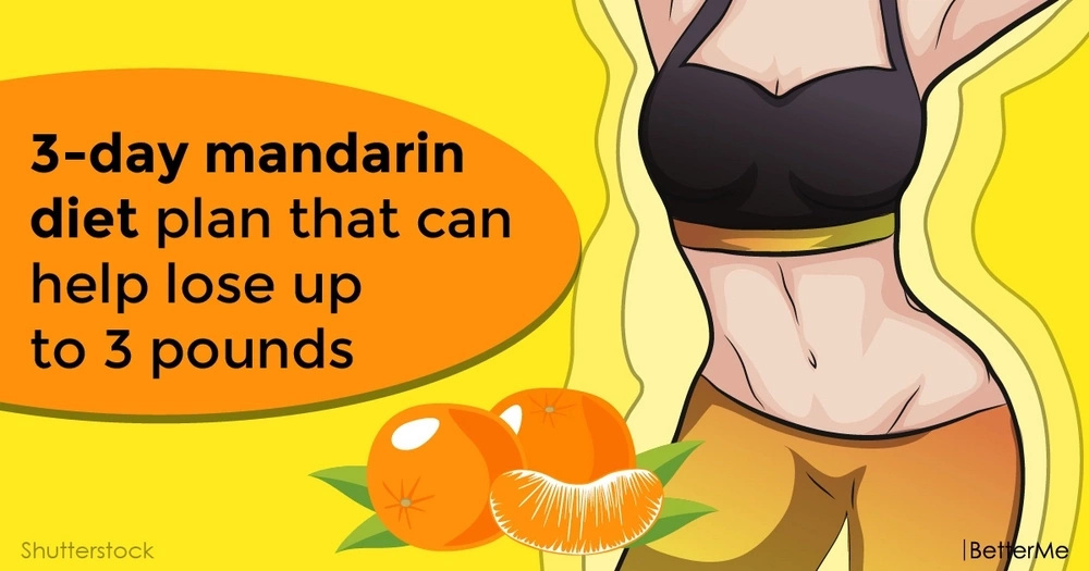 3-day mandarin diet plan that can help lose up to 3 pounds