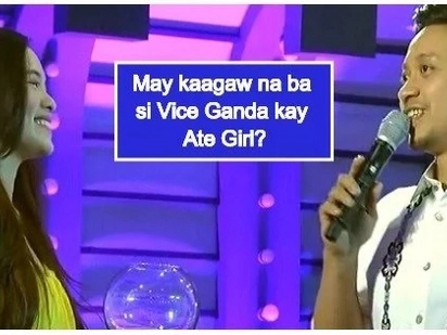 Bagong love team? Jhong Hilario's interaction with Ate Girl on 'It's Showtime' goes viral