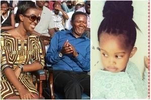 Machakos governor Alfred Mutua and wife finally introduce their 'daughter' after 5 years