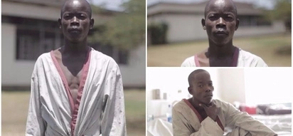 Kenyan man, 21, who had world's biggest testicles can now live a normal life after surgery