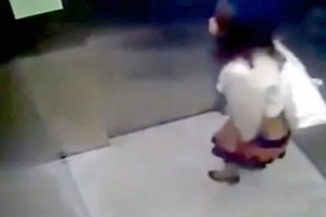 Did This Woman Know She Was Being Filmed Having Poo in Lift?