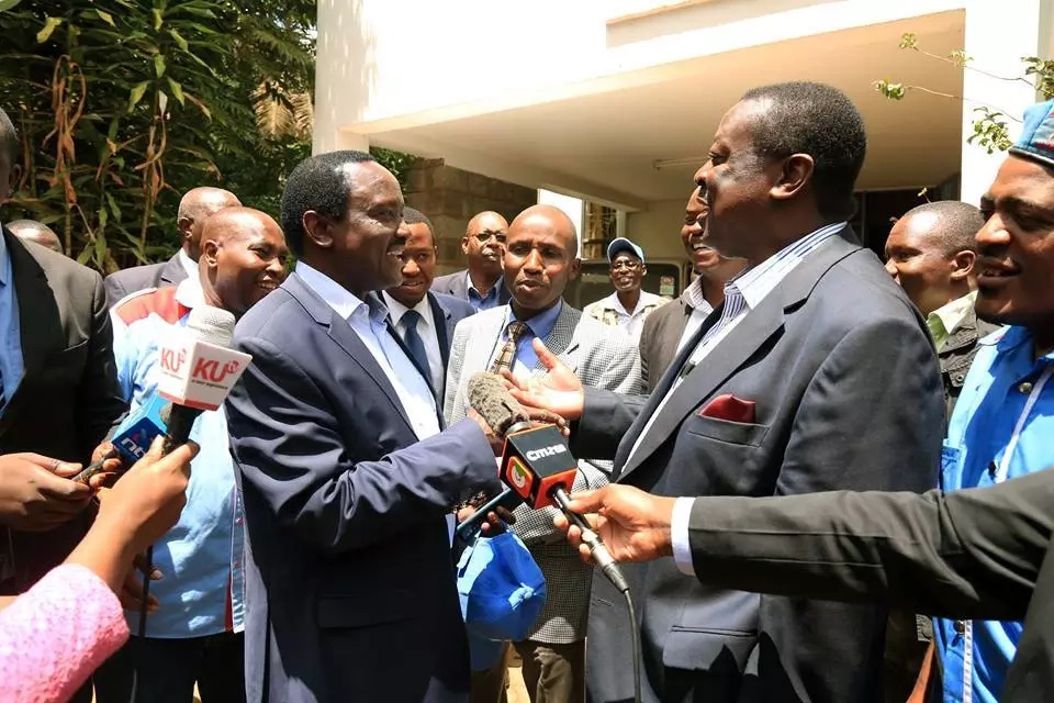 Kalonzo and Musalia