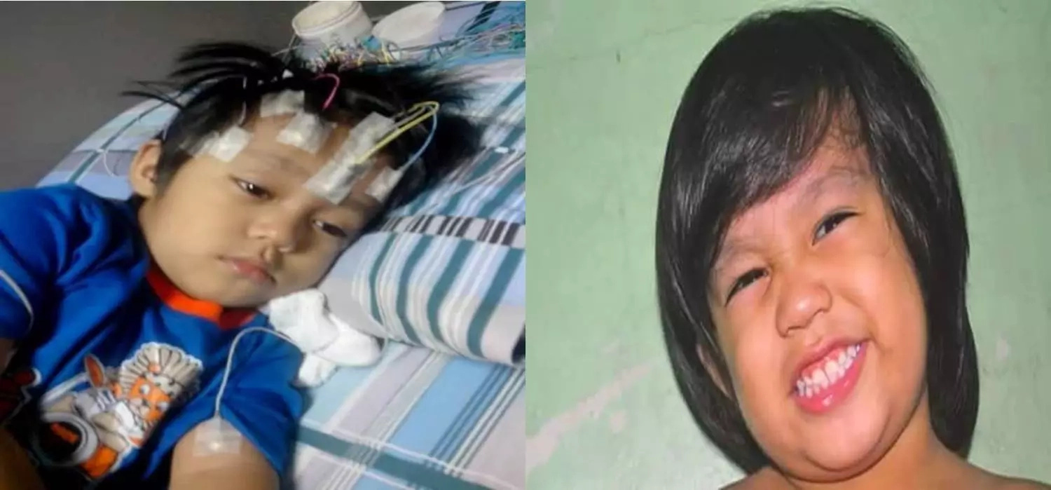 Poor Pinay begs help for sick daughter