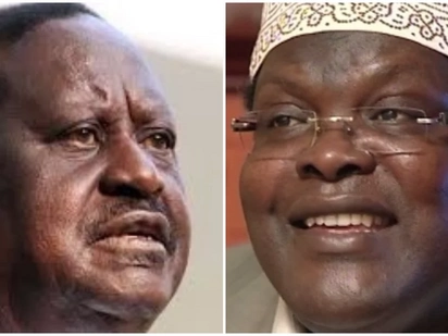Raila Odinga blasts Miguna Miguna over claims NASA CEO is Jubilee mole