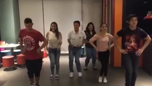 Tirso Cruz III shows Fetty Wap dance moves