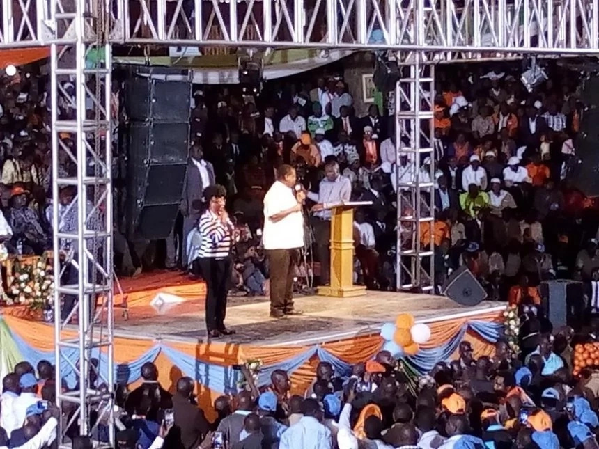 NASA officially unveiled at Bomas of Kenya