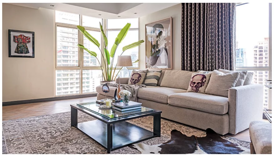 Ang taray ng condo! Iza Calzado's condo exudes class and sophistication while still being homey and inviting