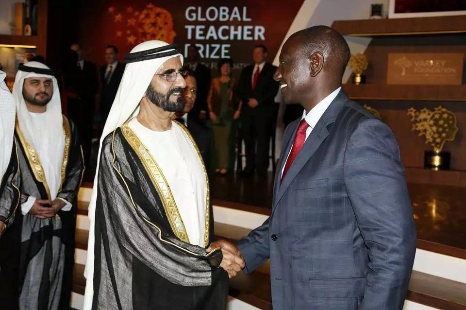 See Ruto at education forum in fabulous Dubai