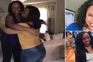 Two strangers find they are SISTERS after living a walking distance from each other for 8 years (photos, video)