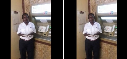 G4S guard stumbles upon KSh 20k and stuns the internet with what she did with the money