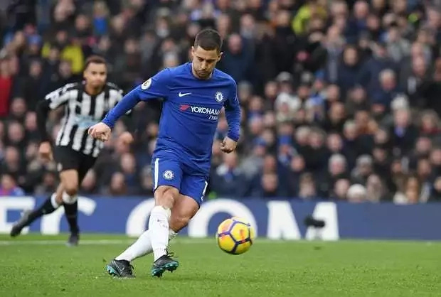 Hazard on rampage as Chelsea demolish Newcastle United 3-1 to mount more pressure on Manchester City