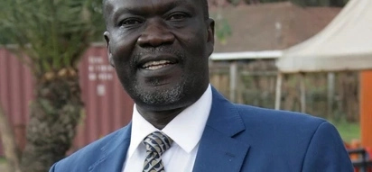 Siaya governor Cornel Rasanga spent millions to get his picture on examination papers