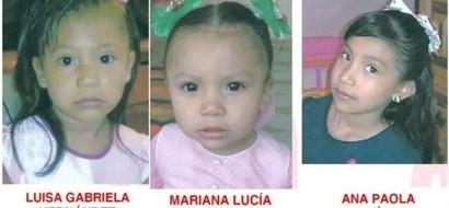 3 hermanitas están desaparecidas