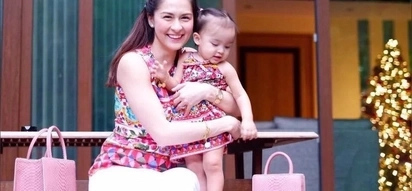 Marian Rivera perfects fashion twinning with the ever cutest Baby Zia