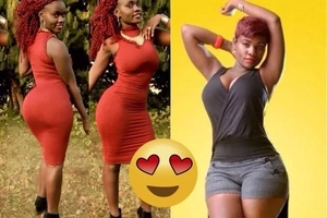 Siaya-based female singer stuns the internet with her massive hips and humongous derrière