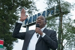 Uhuru Kenyatta's visit in Western a DISAPPOINTMENT