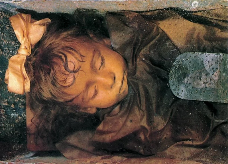 The Sleeping Beauty: This girl died 100 years ago, but she still looks so much alive