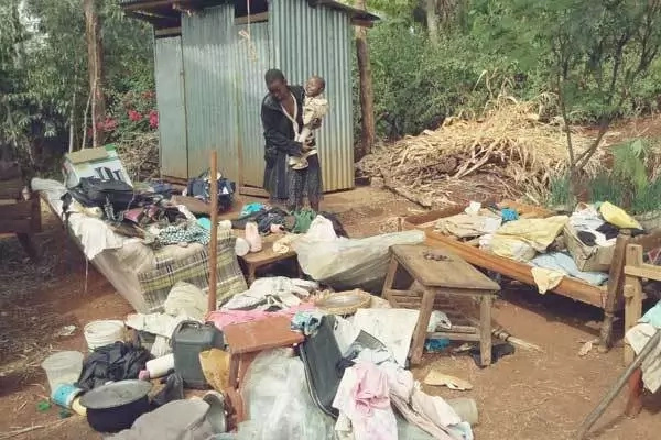 Catholic priest hires goons to evict his brother from a parcel of land in Central Kenya