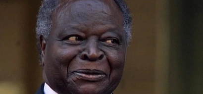 Mwai Kibaki admitted to the Karen Hospital