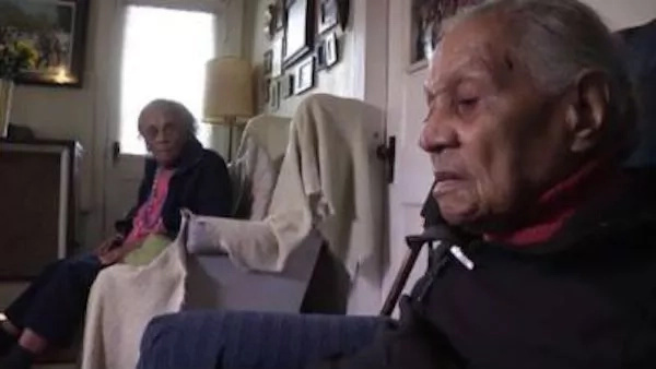 Meet the CENTENARIAN sisters who are celebrating their 103rd and 105th birthdays (photos, video)
