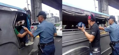 Passengers thought it was a checkpoint; what these policemen did isn't what you're expecting!
