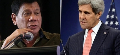 What will Duterte, US Secretary of State John Kerry talk about?