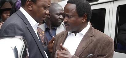 Uhuru anafanya kila juhudi kuhakikisha Kalonzo AMEACHANA na Raila, mwanasiasa wa Jubilee afichua