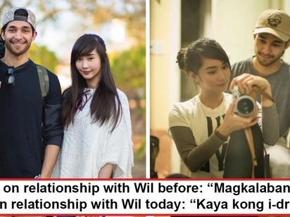 Magkalaban noon, nagkatuluyan ngayon! Wil Dasovich and Alodia Gosiengfiao finally reveal how their rivalry blossomed into a strong relationship