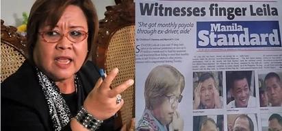 """Disappointed netizens slam Manila Standard for headline """"Witnesses finger Leila"""""""