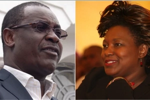 Shebesh 'slaps' Kidero back four years after his infamous slap on her