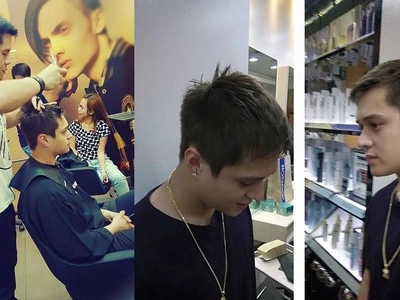Netizens gush over Enrique Gil's new 'fukboi' hairstyle