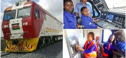 Women empowerment! Meet well-trained women who will be steering new SGR trains (photos)