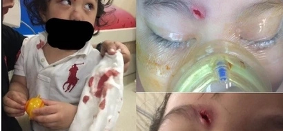 Mga walang malasakit! Father pleads for prayers after 2-year-old son got hurt in a freak accident at Kidzoona