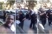 Police officers assume man can't own car, threaten to arrest him for sitting on it